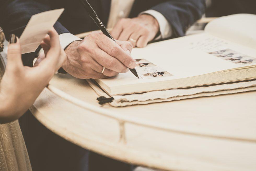 libro de firmas Blog de bodas Micrapelbodas